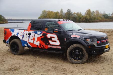 cami�n de reparto: Ford F150 Raptor - pick-up