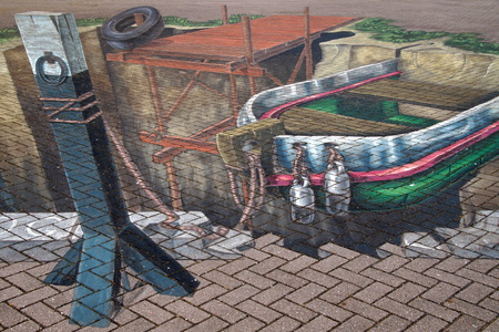 Street art: the power of 3D optical illusion