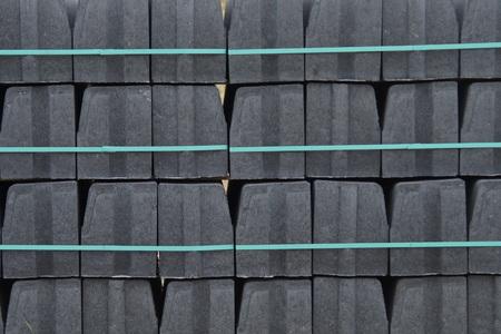 construction material: construction material - bricks Stock Photo