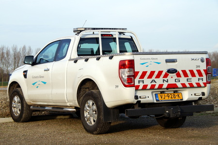 almere: Ford Ranger - Almere local municipal law enforcement vehicle