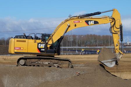 hydraulic: CAT 336th Large Hybrid Hydraulic Excavator - Caterpillar