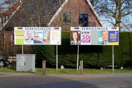 Nederlands 2017 algemene verkiezingen sign-advertisement