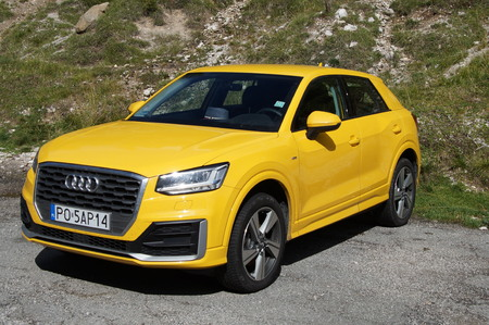 Yellow Audi A3 4wd Editorial