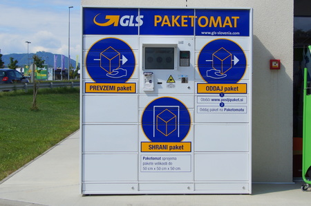 General Logistics Systems (GLS) Parcel and letter machine