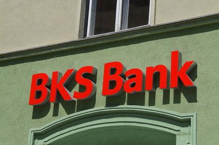 BKS Bank logo Sajtókép