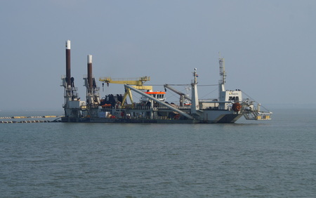 Boskalis Edax cutter suction dredger (CSD) Editorial