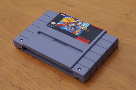 Super Nintendo Entertainment System (SNES) game cartridge or NCAA Basketball. Editorial