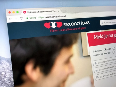 Home or dating site Second Love, a controversial site due to its nature that it is explicitly bringing cheating people together.