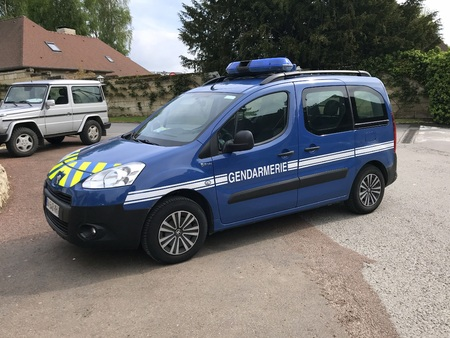 National Gendarmerie or Police car, Peugeot Partner Éditoriale