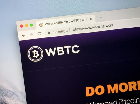Amsterdam, the Netherlands - October 26, 2018: Website of WBTC, the Wrapped Bitcoin Project.