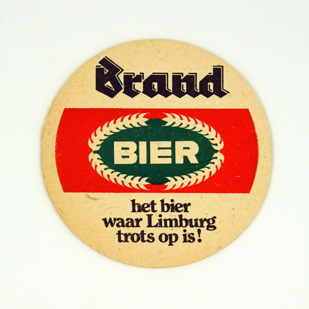 Amsterdam, the Netherlands - March 12, 2019: 1980s vintage Dutch Beer mat or coaster against a white background. Redactioneel