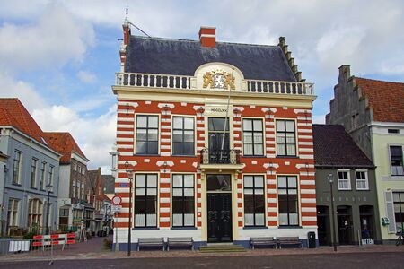 Hattem, the Netherlands - February 20, 2020: Town hall of the Hattem. Editorial