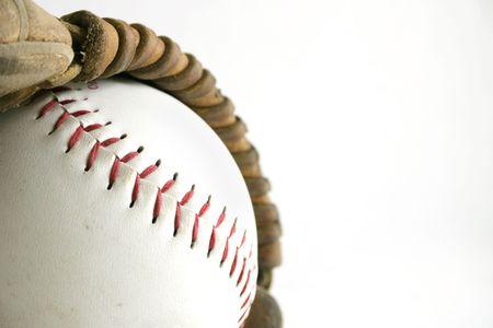 소프트볼과 장갑