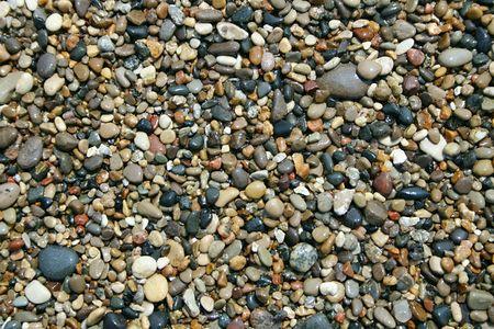 smooth: Smooth stones on beach