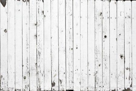 cerca blanca: Fondo de la valla de blanco Foto de archivo