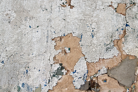 부서진 페인트와 콘크리트 텍스처