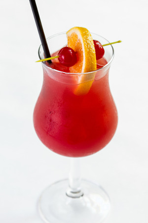 A refreshing Hurricane cocktail 版權商用圖片 - 39895755
