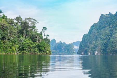 Khao Sok National Park,Guilin of Thailand Stock Photo