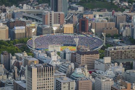 Yokohama baseball stadium in Japan: 5th May 2017 新聞圖片