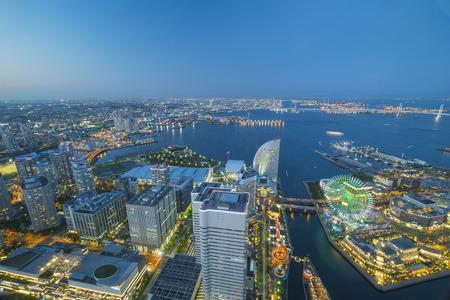 Look out from Yokohama Landmark Tower in Japan - 5th May 2017