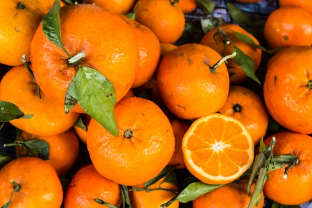 Orange fruit for Chinese new year time photo