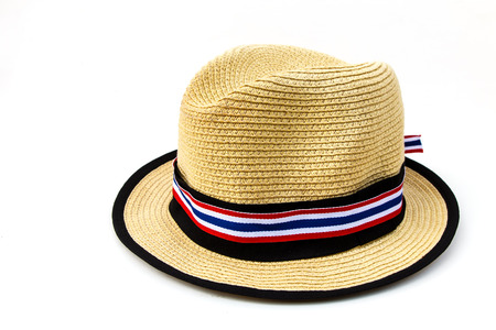 Hat for Thai people against government photo