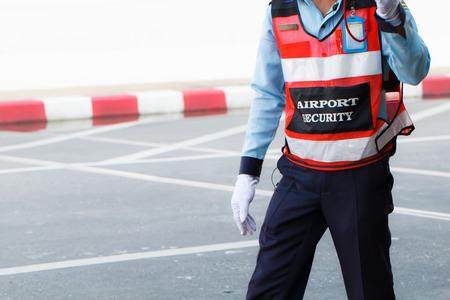 道路上の空港セキュリティ
