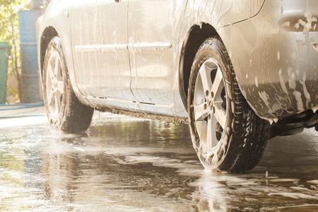 車洗車 2 で洗浄するとき