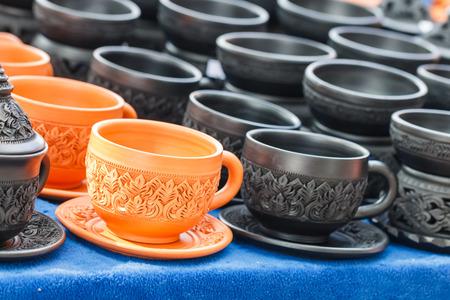 ceramiki: Rzemieślnicze ceramiki ilastych ceramiki