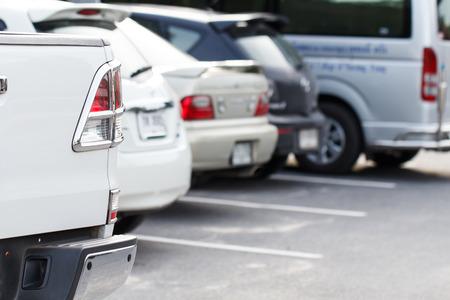 multi story car park: Car park in parking lot