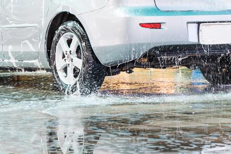 洗車で洗車