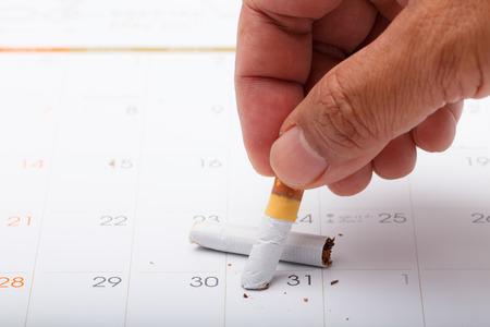 在世界无烟日的时候亲手戒烟