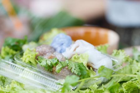 Street food, Sago pork is delicious Thailand dessert