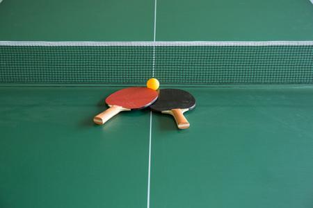 tabletennis: Table tennis, Ping - pong Stock Photo
