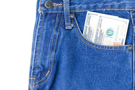 one hundred blue jeans is the classic one fashion that all people love it. This image can apply for background,backdrop including business of clothing and artwork design.