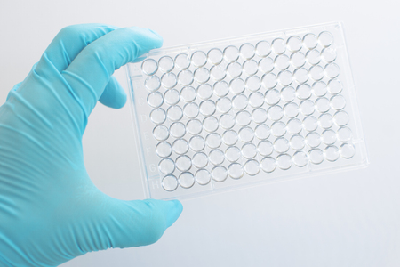 wells: 96 wells microplate for medical laboratory testing