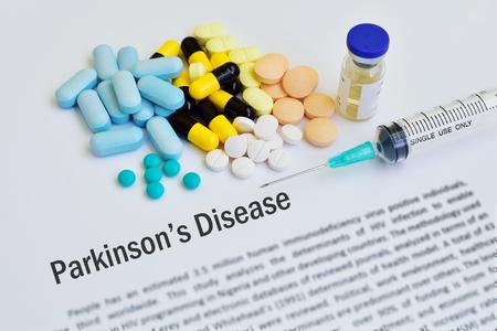 parkinson's: Drugs for Parkinsons disease treatment