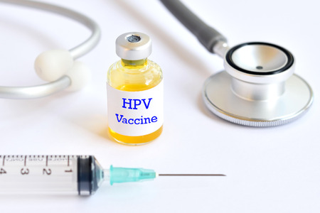 HPV vaccine 版權商用圖片