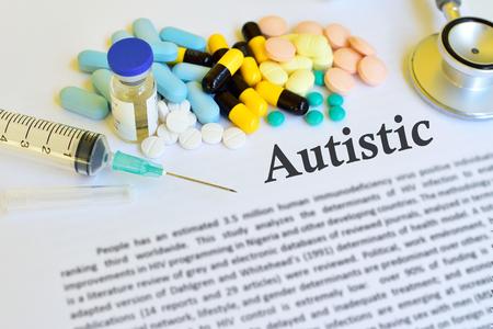 developmental disorder: Drugs for Autistic treatment