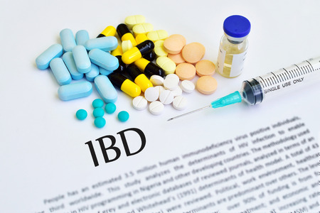 bowel: Drugs for inflammatory bowel disease (IBD) Stock Photo