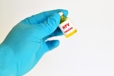 antigenic: HPV vaccine Stock Photo