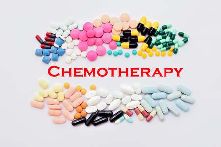 psychotropic medication: Chemotherapy Stock Photo