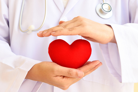 Heart care, medical concept Stock Photo