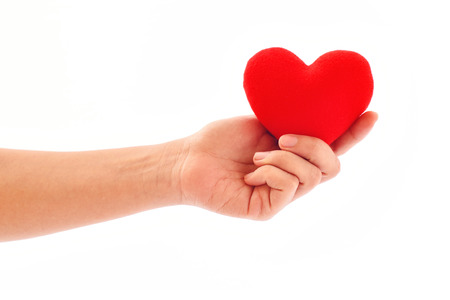 lipoprotein: Heart care, medical concept Stock Photo