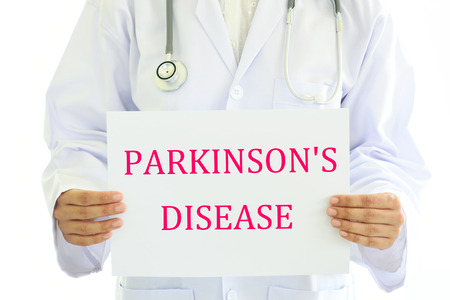 midbrain: Parkinsons disease Stock Photo