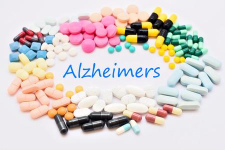 memory drugs: Drugs for Alzheimer disease Stock Photo