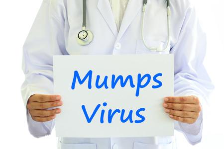 mumps: Mumps virus