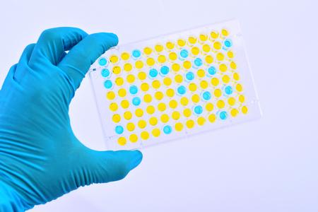ELISA plate for laboratory testing