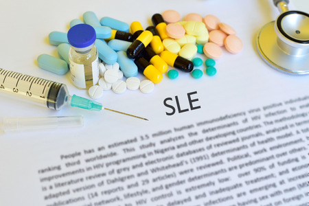 Drugs for SLE treatment