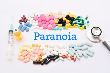 paranoid: Drugs for paranoia treatment